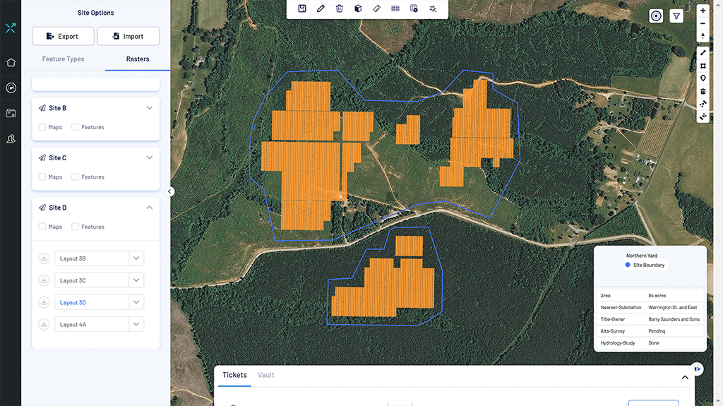 terrain analytics elevation profiles and volumetrics analytics