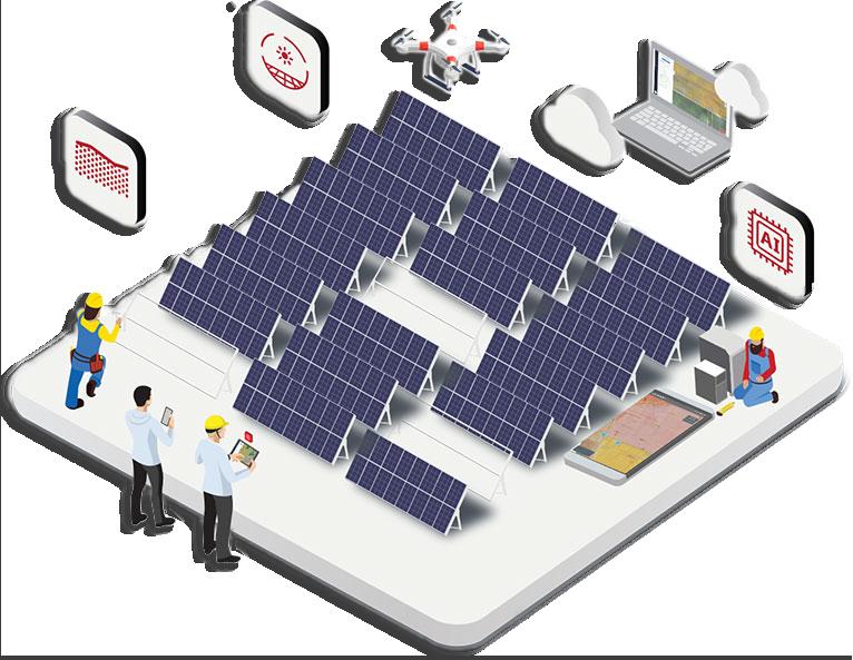 solar clean energy SaaS startup Sensehawk